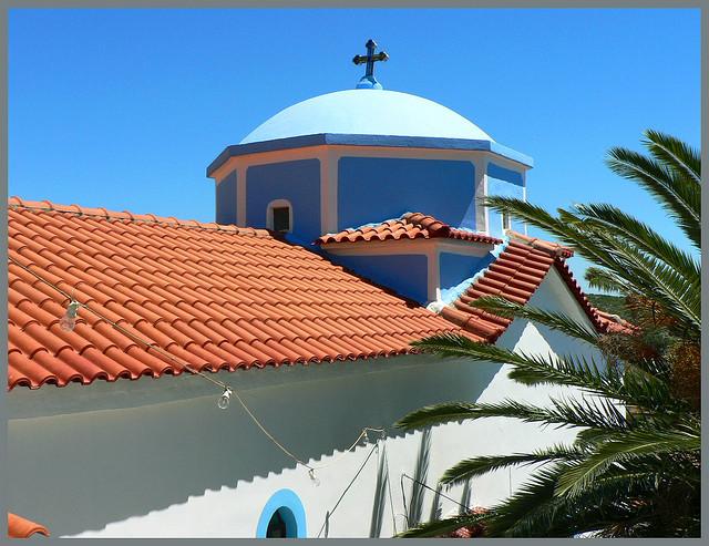 Самос, Греция - Церковь