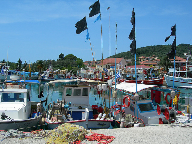 Самос, Греция - столица Пифагора