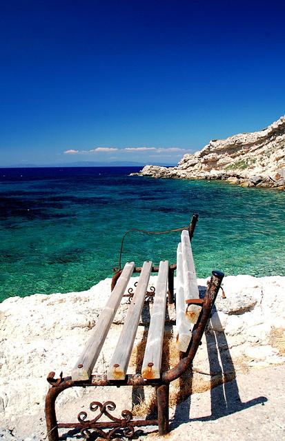 Море - Остров Самос, Греция