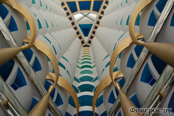 Бурдж Аль Араб (Burj Al Arab) - Холл (Hall)