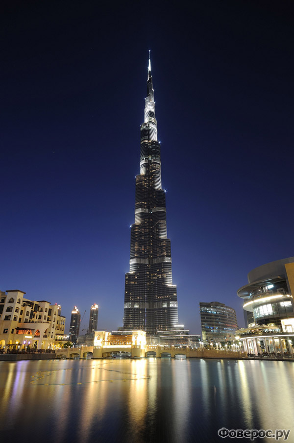 Будрж Халифа - Самое высокое здание в мире (Дубай)