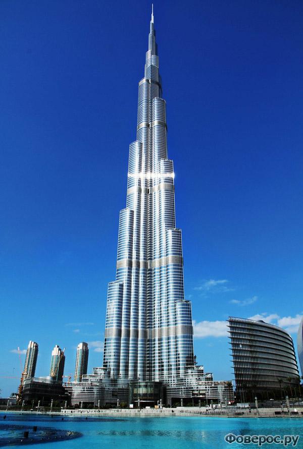 Фото самое высокое здание в мире в дубае