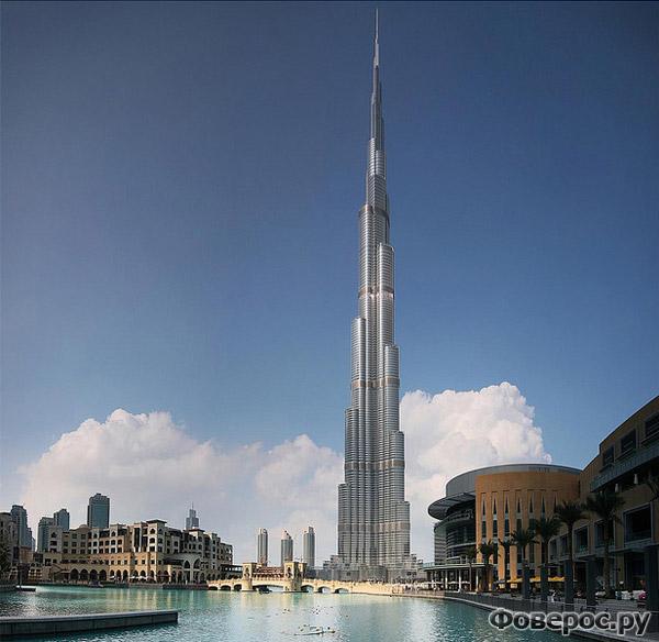 Burj Khalifa - Dubai - Будрж Халифа - Дубай - Небоскрёб