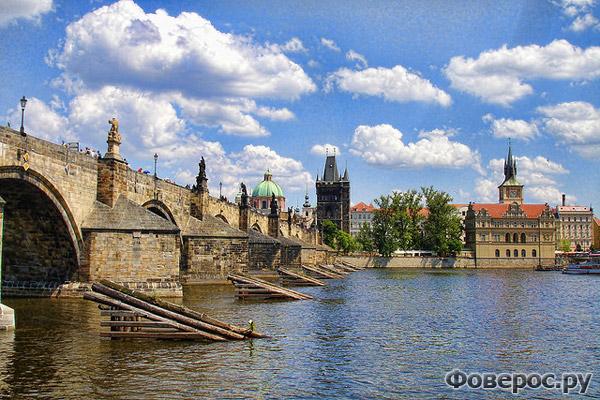 Прага - Карлов Мост - Чехия