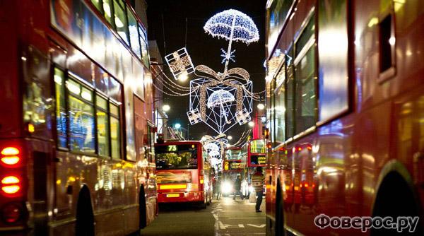 Лондон - Рождество и Новый Год 2011