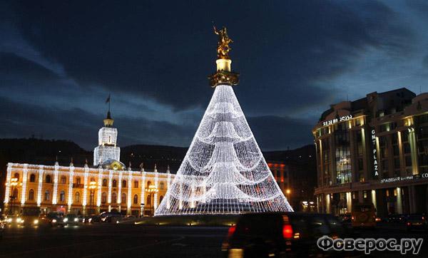Тбилиси - Грузия - Рождество и Новый Год 2011