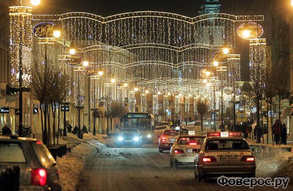 Варшава - Польша - Рождество и Новый Год 2011