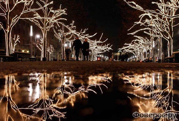 Унтер ден Линден - Берлин - Рождество и Новый Год 2011