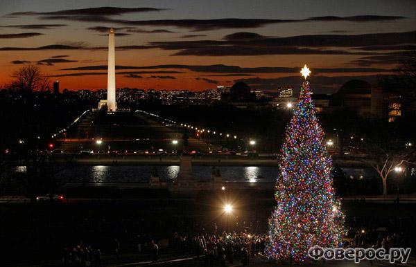 Вашингтон - США - Рождество и Новый Год 2011