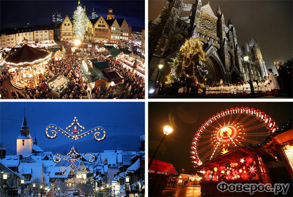 Рождество и Новый Год 2011 на планете
