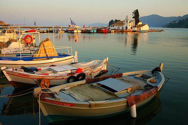 Корфу, Греция - Порт