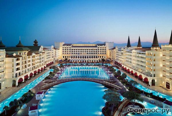 Мардан Палас Анталия - Общий вид на гостиницу