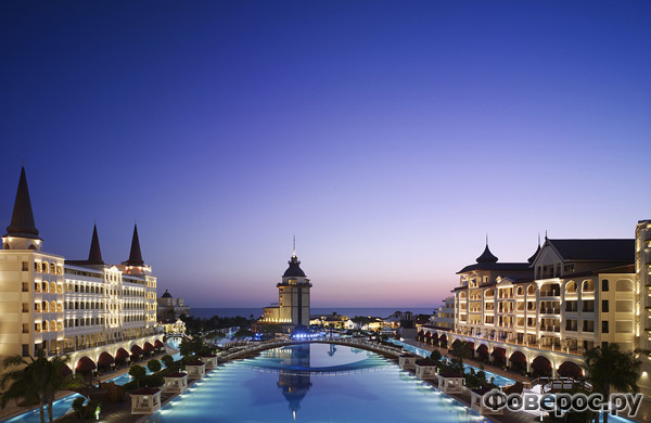 Mardan Palace - Hotel View