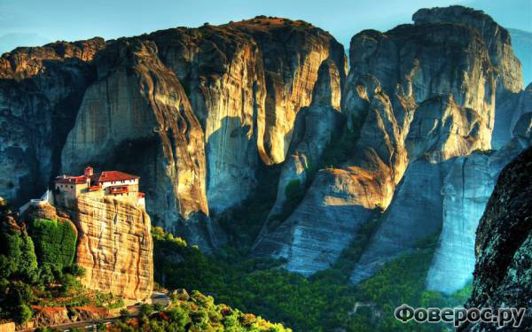 Метеоры - Греция - Монастыри