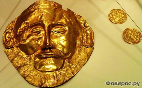 Микены - Золото Шлимона - Греция