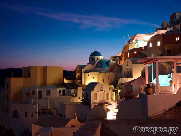 Санторини, Греция. Photograph by C.T. Feng
