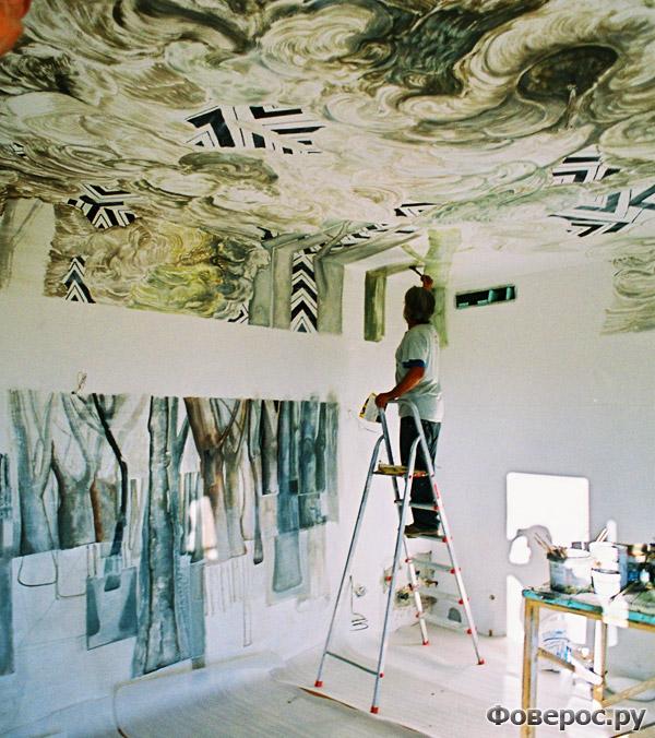 Окраска комнаты - Сюиты Левентис Арт (Leventis Art Suites)