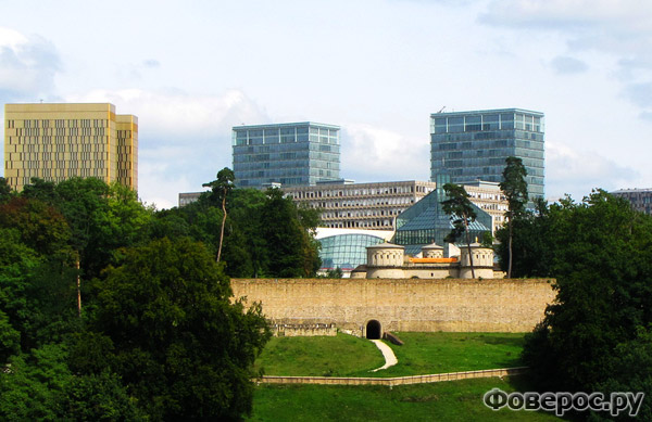 Люксембург (Luxembourg) - Столица государства Люксембург