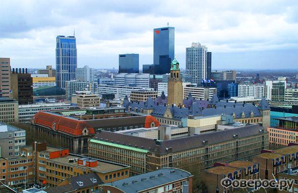 Роттердам - Вид на город