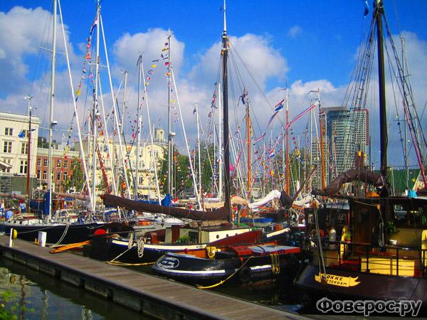 Роттердам - Порт - Нидерланды (Голландия)