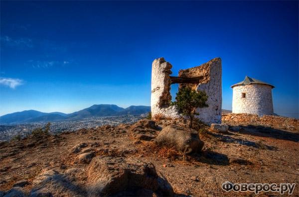 Бодрум - Руины старых мельниц - Турция
