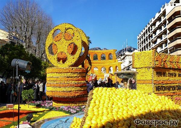 Fete du Citron 2011 - Цитрусовый фестиваль в Ментоне (Франция)