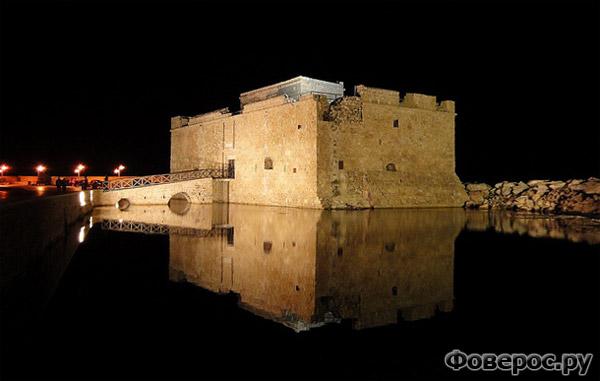 Пафос - Старая тюрьма на набережной - Остров Кипр