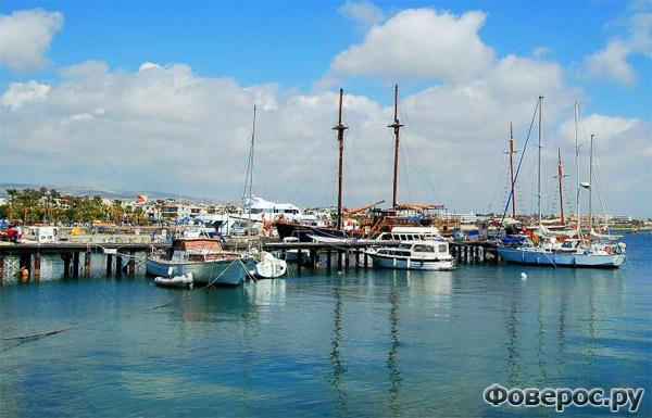 Пафос - Порт, корабли - Остров Кипр