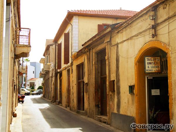 Пафос - Городские улочки - Остров Кипр