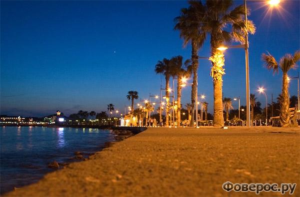 Пафос - Набережная - Остров Кипр