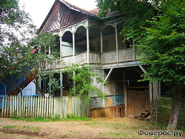 Дом в традиционном грузинском стиле - Манглиси Грузия