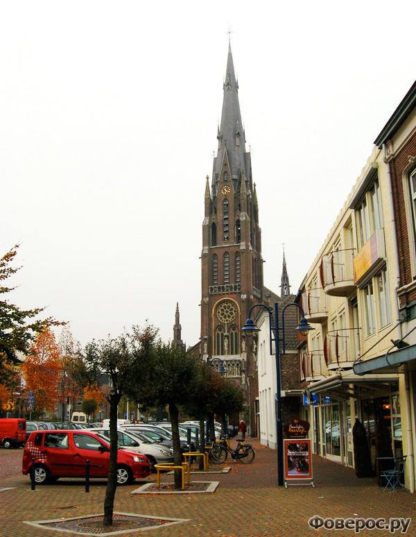 Вехел (Veghel) - Город в Голландии (Netherlands) - Центр города