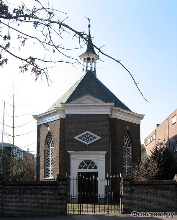 Вехел (Veghel) - Город в Голландии (Netherlands) - Протестантская церковь