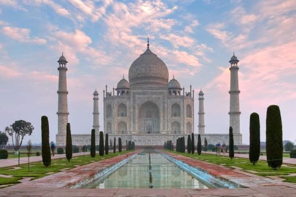 Тадж-Махал в Агре - Индия
