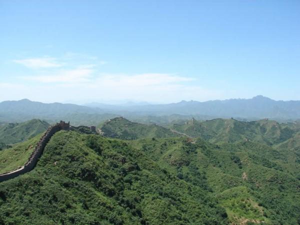 Китайская стена в Китае