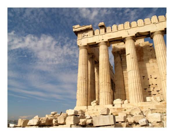 Афинский Акрополь - Греция