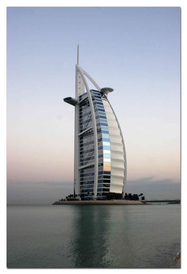 Бурдж Аль Араб в Дубае