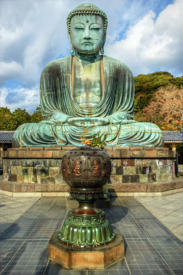 Большой Будда в Камакура - Токио