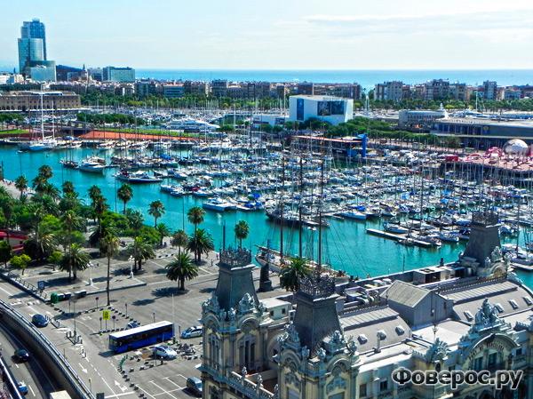 Барселонетта - порт города Барселона