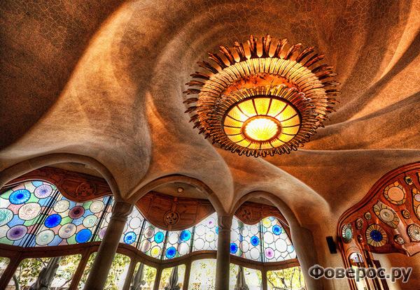 Каса Баттло внутри - Барселона