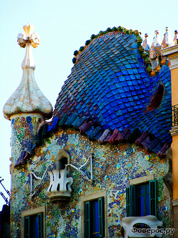 Каса Баттло Casa Battlo - Барселона