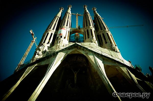 Собор Саграда Фамилия - Святое Семейство - Барселона