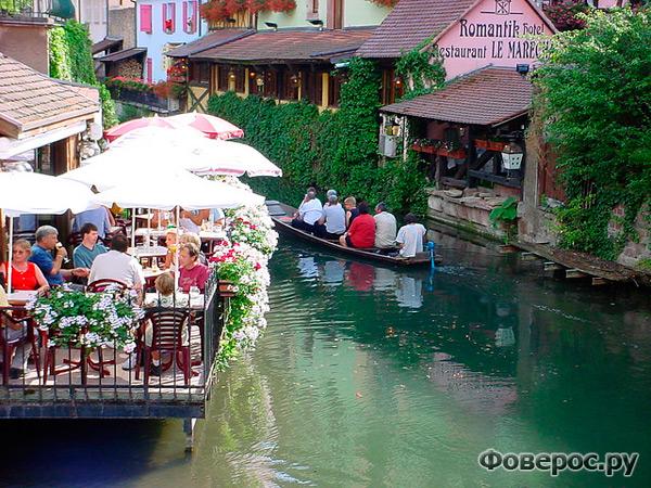 Кольмар - сказочный город Франции.