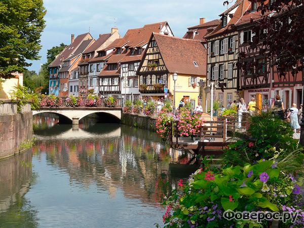 Кольмар - сказочный город Франции