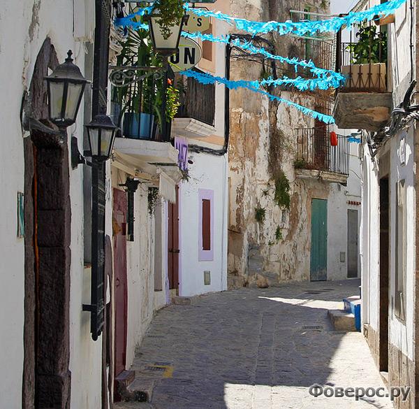 Улочки Ибицы - Испания