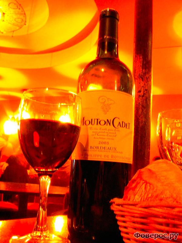 Вино Бордо, Франция