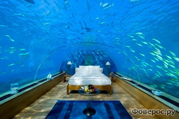 Подводный номер для молодоженов