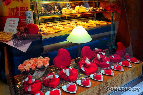 Сладости ко дню Св. Валентина. Испания