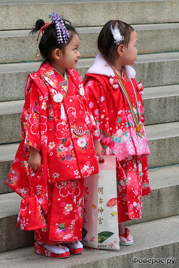 Япония. Девочки