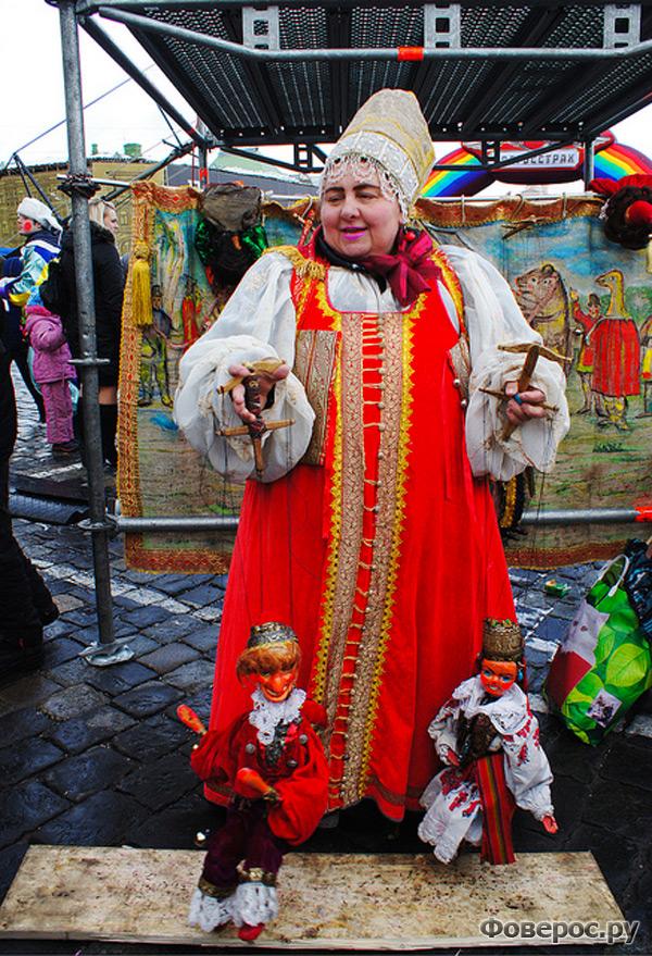 Масленица - традиционный праздник.